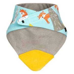 Becalm Baby Fox Bib