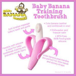 Baby Banana Toothbrush Pink