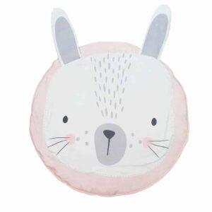 Pink baby animal playmat