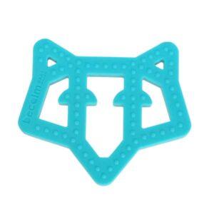 Frankie the Fox Teether - Teal