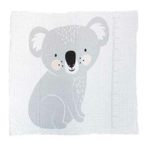 Koala Muslin Swaddle Mister Fly