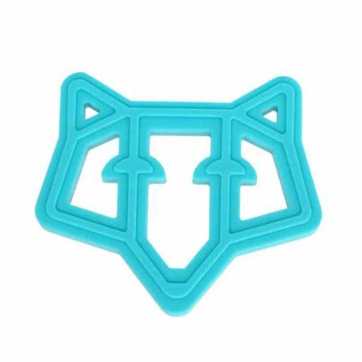Frankie the Fox Teether Teal