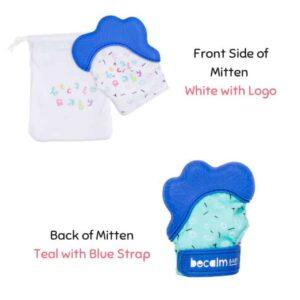 teething mitten, teething mitt, baby teething toy