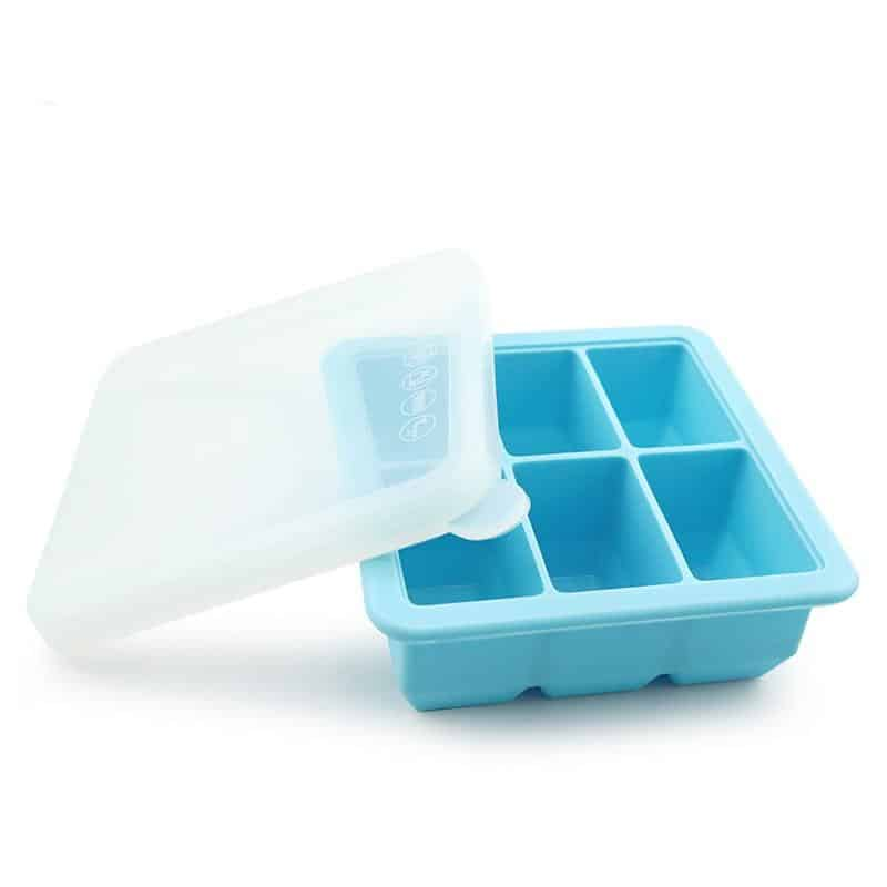 Haakaa Baby Food And Breast Milk Freezer Tray Pink Blue