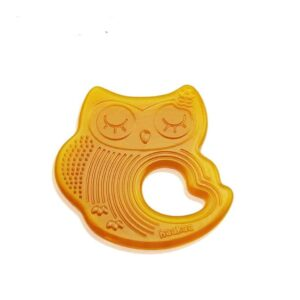 Haakaa Sleeping Owl Rubber Teether