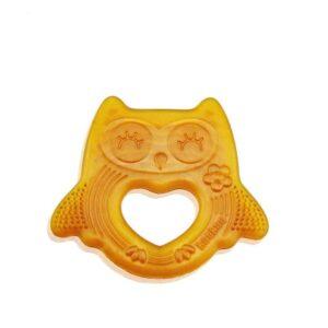Haakaa Smiling Owl Rubber Teether