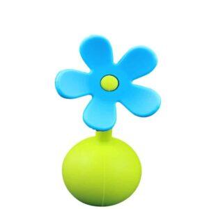 blue flower stopper haakaa