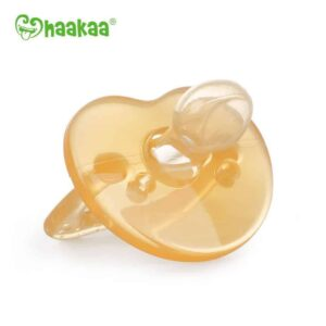 Haakaa Apricot Silicone Dummy
