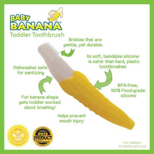 The Original Baby Banana Brush