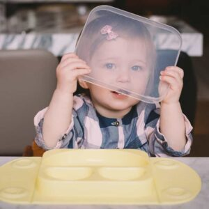 Portable Baby Divided Suction Tray (EasyMat Mini)