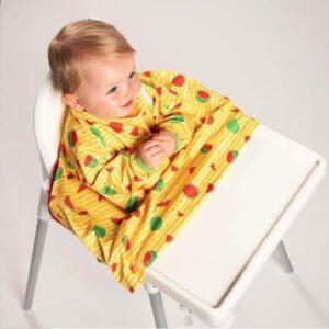 Bubify Coverall Bib Sunshine Yellow