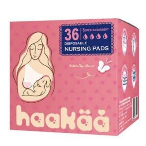 haakaa disposible breast pads butterfly