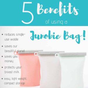 Junobie Reusable Silicone Breastmilk Storage Bags