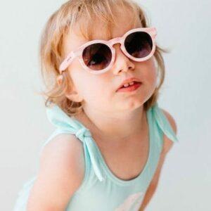 Frankie Ray PIXIE - PINK STRIPE sunglasses