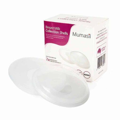 Mumasil Breastmilk Collection Shells