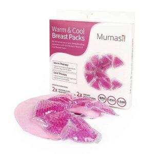Mumasil Reusable Warm and Cool Breast Packs