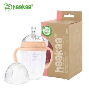 Haakaa Generation 3 Sippy Spout Bottle Peach