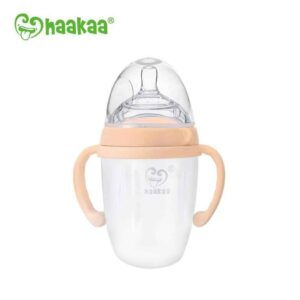 Haakaa Silicone Feeding Tube & Bottle Set