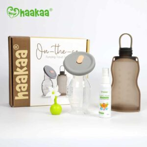 Haakaa On-The-Go Pumping Travel Set