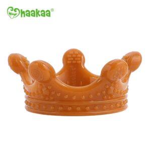 haakaa silicone crown teether