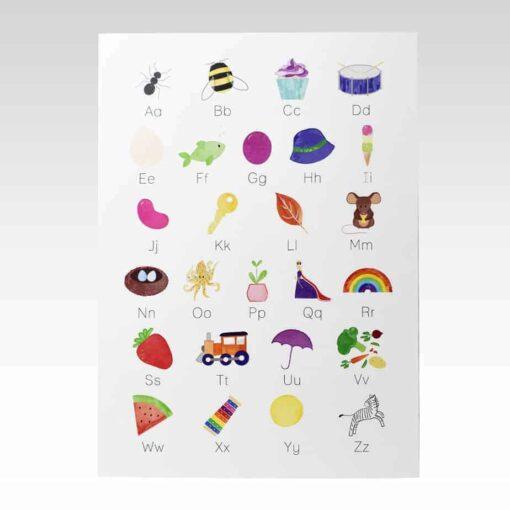 Rhicreative Alphabet A3 Print
