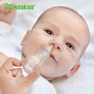 Haakaa Easy-Squeezy Silicone Bulb Syringe