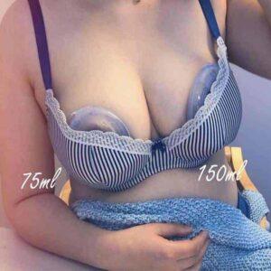 haakaa Ladybug Silicone Breast Milk Collector (75ml/150ml)