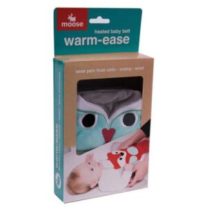 Moose Warm-Ease Heated Baby Belt Owl