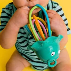 Lil' Squish Jellyfish - Sensory Rattle and Teething Toy