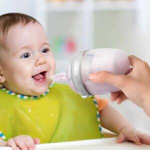 Generation 3 Silicone Bottle Feeding Spoon Head